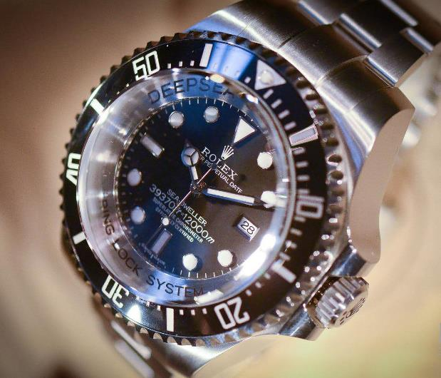 The Deepsea Challenge is water resistant to a depth of 12,000 meters.