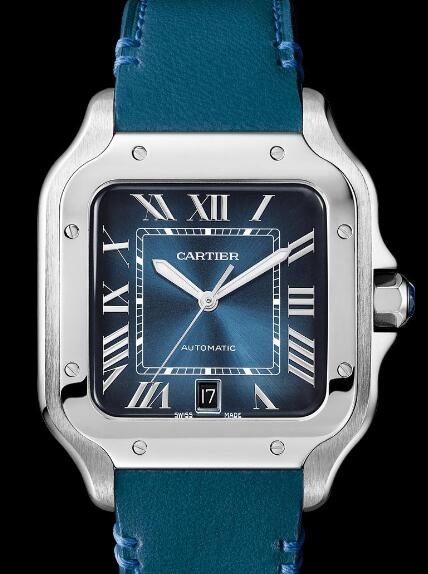 This new Santos de Cartier is more dynamic and charming.