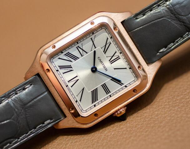 Many details of this Cartier has attracted lots of watch lovers.